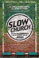 Slow Church Pdf/ePub eBook