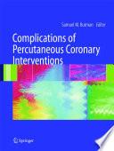 Complications of Percutaneous Coronary Interventions