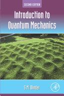 Introduction to Quantum Mechanics Pdf/ePub eBook
