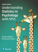 Cover of Understanding Statistics in Psychology with SPSS