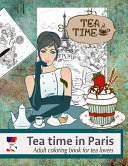 Adult Coloring Book for Tea Lovers