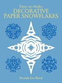 Decorative Paper Snowflakes