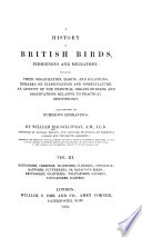 A History Of British Birds Indigenous And Migratory