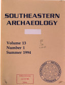 Southeastern Archaeology Book