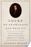 Locke on Knowledge and Reality Book PDF