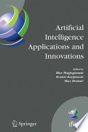 Artificial Intelligence Applications And Innovations Book PDF