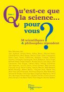 Pdf Qu'est-ce que la science… pour vous ? Telecharger