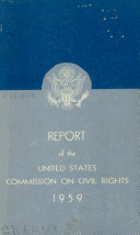 Report of the United States Commission on Civil Rights