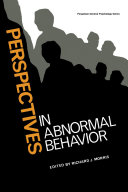 Perspectives in Abnormal Behavior Pdf/ePub eBook