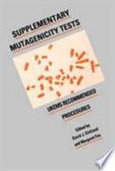 Supplementary Mutagenicity Tests Book
