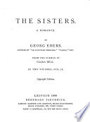 The sisters  from the Germ  by C  Bell Book