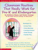 Classroom Routines That Really Work For Prek And Kindergarten