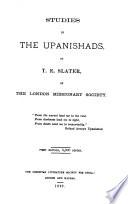 Studies in the Upanishads