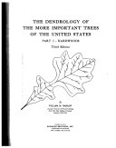 The Dendrology of the More Important Trees of the United States  Hardwood Book