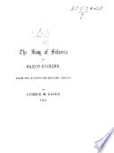 The Song of Solomon in Saxon English  From the Authorised English Version  By George M  Green   Together with the Text of the Authorized Version  The Editor s Prefatory Note Signed  L  L  B   I e  Prince Louis Lucien Bonaparte   Book