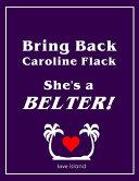 Bring Back Caroline Flack  She s a Belter  Love Island Notebook