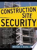 Construction Site Security Book PDF