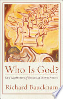 Who Is God Acadia Studies In Bible And Theology