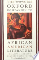 The Concise Oxford Companion To African American Literature Book PDF