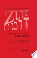 Zutot 2004 Book