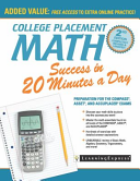 link to College placement math success in 20 minutes a day in the TCC library catalog