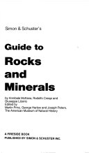 Simon   Schuster s Guide to Rocks and Minerals