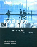 Psychology Study Guide Book