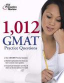 1 012 GMAT Practice Questions