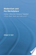 Modernism and the Marketplace