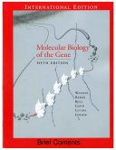Moleculer Biology of the Gene, 5th Ed, Pearson Education, 2004