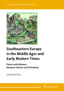 Pdf Southeastern Europe in the Middle Ages and Early Modern Times Telecharger