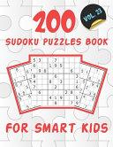 200 Sudoku Puzzles Book For Smart Kids VOL 23