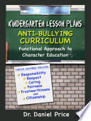 Kindergarten Lesson Plans Book