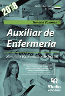 Auxiliar de Enfermería. Servicio Extremeño de Salud. Temario Volumen 1