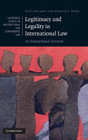 Legitimacy and Legality in International Law