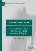 Welfare Doesn't Work Pdf/ePub eBook