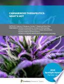 Cannabinoid Therapeutics: What's Hot
