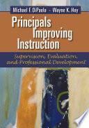 Principals Improving Instruction Book