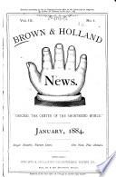 Brown & Holland Shorthand News
