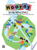 Hooray For Singing  Book PDF