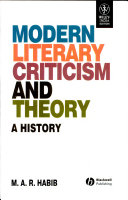 Modern Literary Criticism And Theory : A History