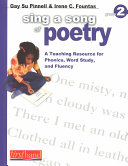 Sing a Song of Poetry Book