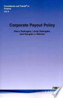 Corporate Payout Policy