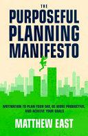 The Purposeful Planning Manifesto