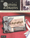 It s All about Mini Albums  Leisure Arts  3731  Book