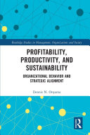 Profitability, Productivity, and Sustainability