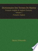 Dictionnaire Des Termes De Marine