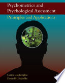 Psychometrics and Psychological Assessment Book