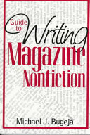 Guide to Writing Magazine Nonfiction