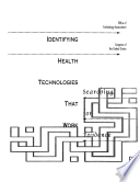 Identifying Health Technologies That Work